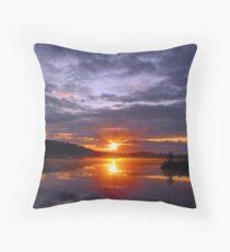 Sunrise at Kirk Park Throw Pillow