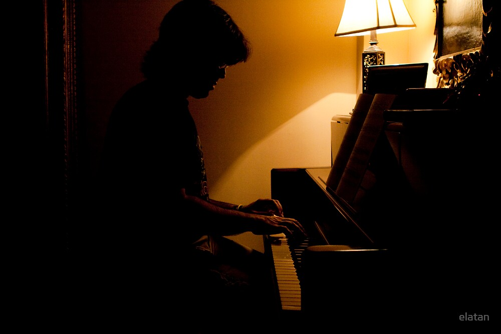 THE PIANIST. by elatan