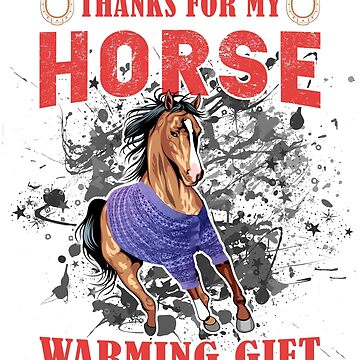 Mustang Horse Breeds House Warming Gift Cute, Funny Bestseller Gift by goosedaddy60
