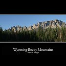 Wyoming Rocky Mountain Two by FrankGImages