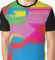 Farbexplosion! Grafik T-Shirt