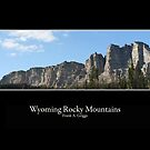 Wyoming Rocky Mountains Three by FrankGImages