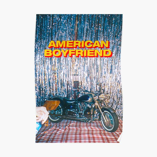 American Boyfriend - Kevin Abstract Poster
