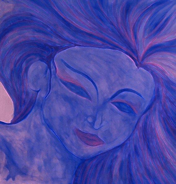 Blue Lady by deeanne