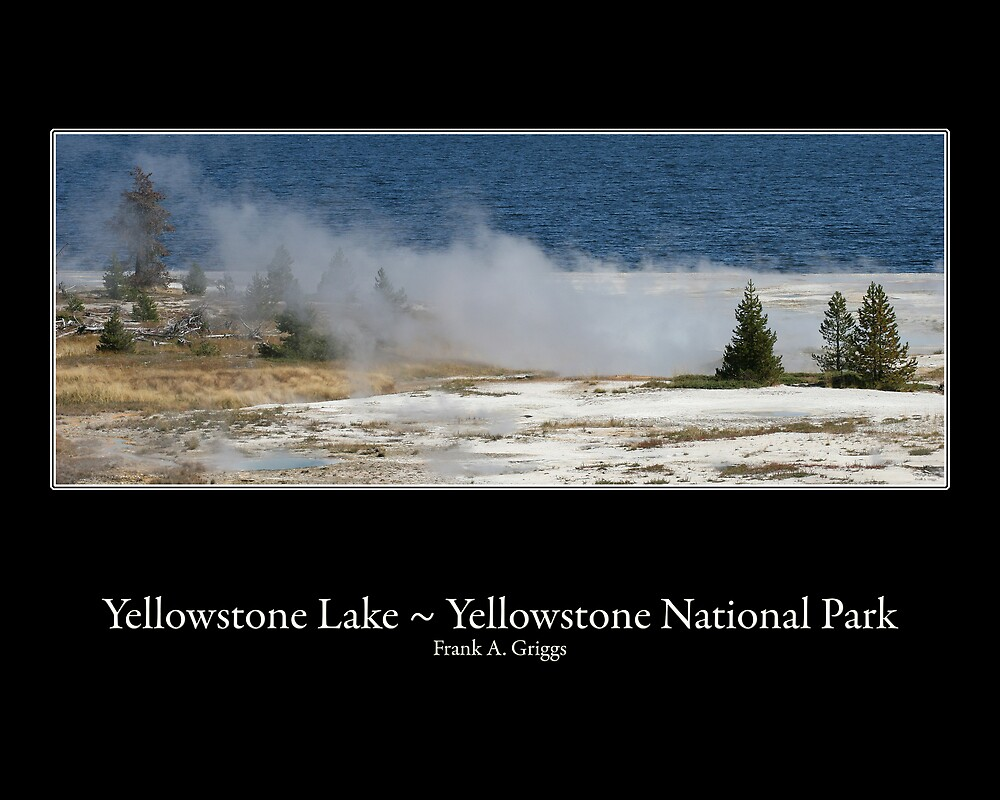 Yellowstone Lake Three by FrankGImages