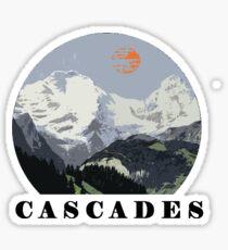 Erstaunlich die CASCADES Sticker