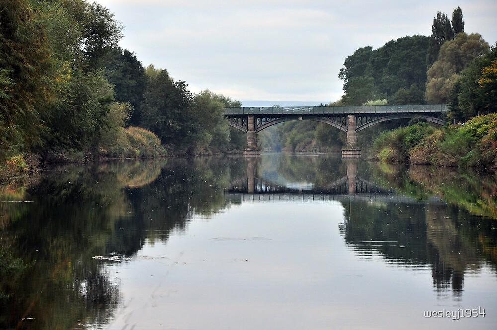 Hunderton bridge, Hereford by wesleyj1954