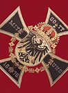German Eagle and Iron Cross of Prussia by edsimoneit