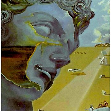DAVID : Vintage Dali Biblical Abstract Print by posterbobs