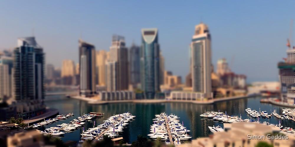 Dubai Marina DOF by Simon Geddes