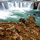 Above Godafoss by mikewheels