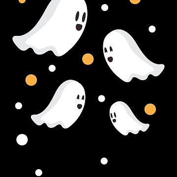 Halloween White Ghosts by bza84