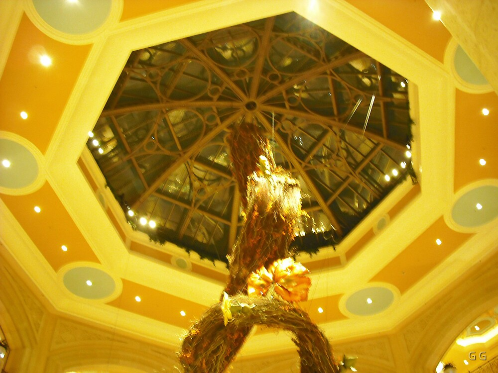 The Palazzo Ceiling In Las Vegas by G G