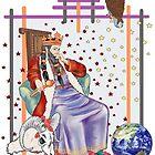The Tarot Emperor by redqueenself