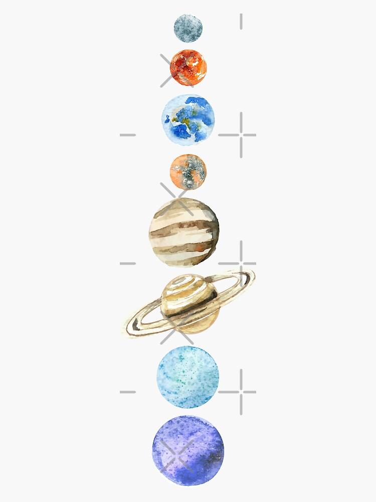 The Solar System by juliarosenbe