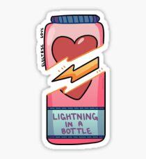 electric love Sticker