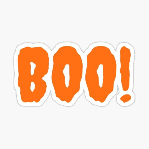 Boo! Sticker Sticker