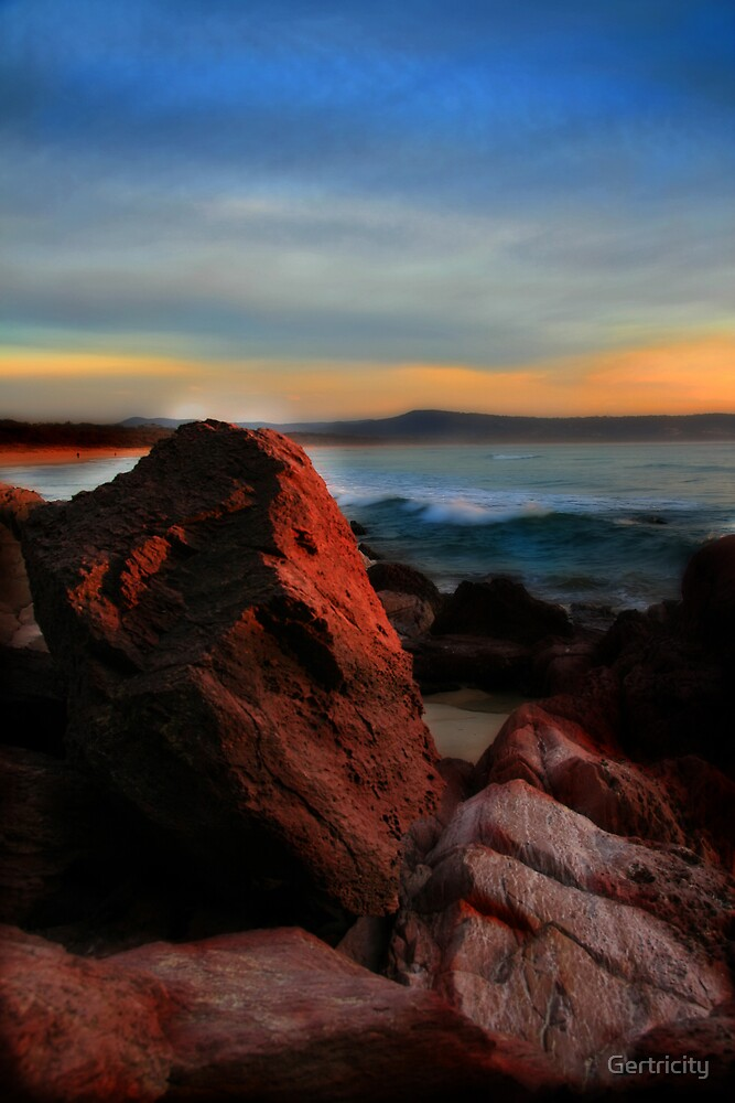 Red Rock Sunrise by Gertricity