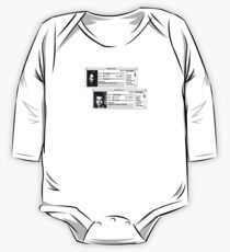 Student Record One Piece - Long Sleeve