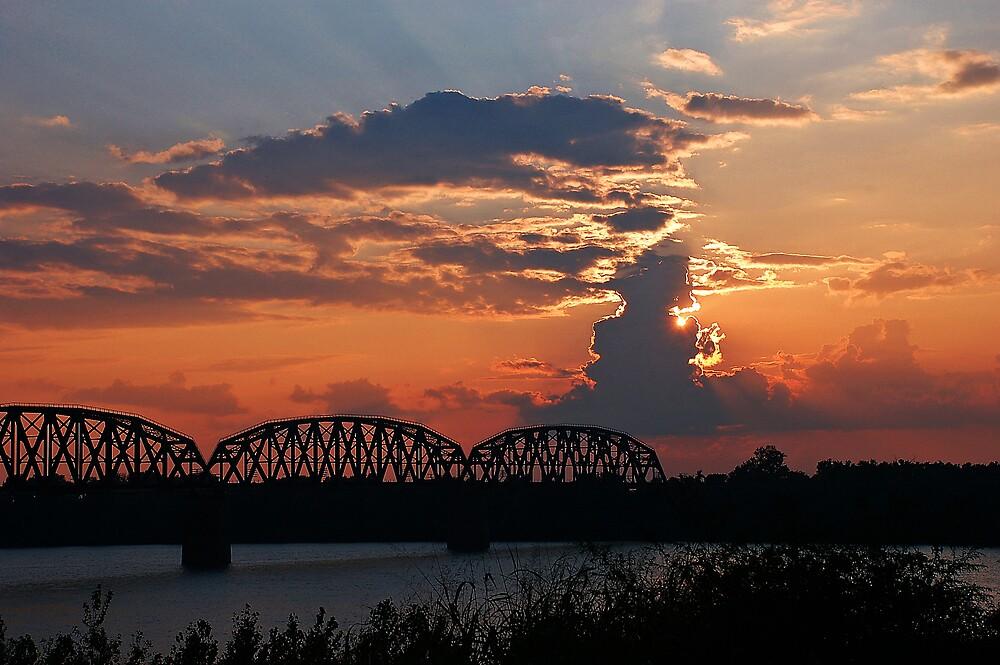 River Sunset by kentuckyblueman