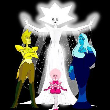 The diamonds steven universe by CrystalPucker