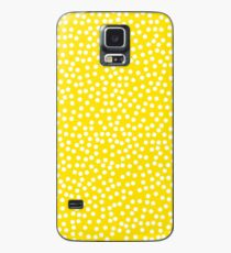 Classic baby polka dots in yellow. Case/Skin for Samsung Galaxy