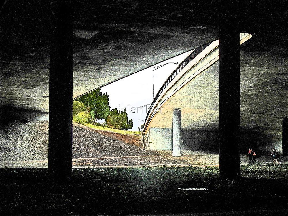 Under the Freeway (1) by Ian Ker