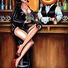 Happy Hour - Halloween by Isobel Von Finklestein