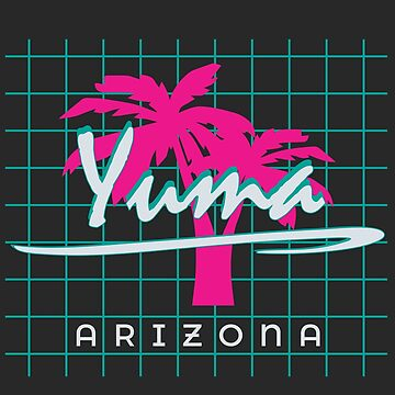 Yuma Arizona Souvenirs AZ Palm Tree by fuller-factory