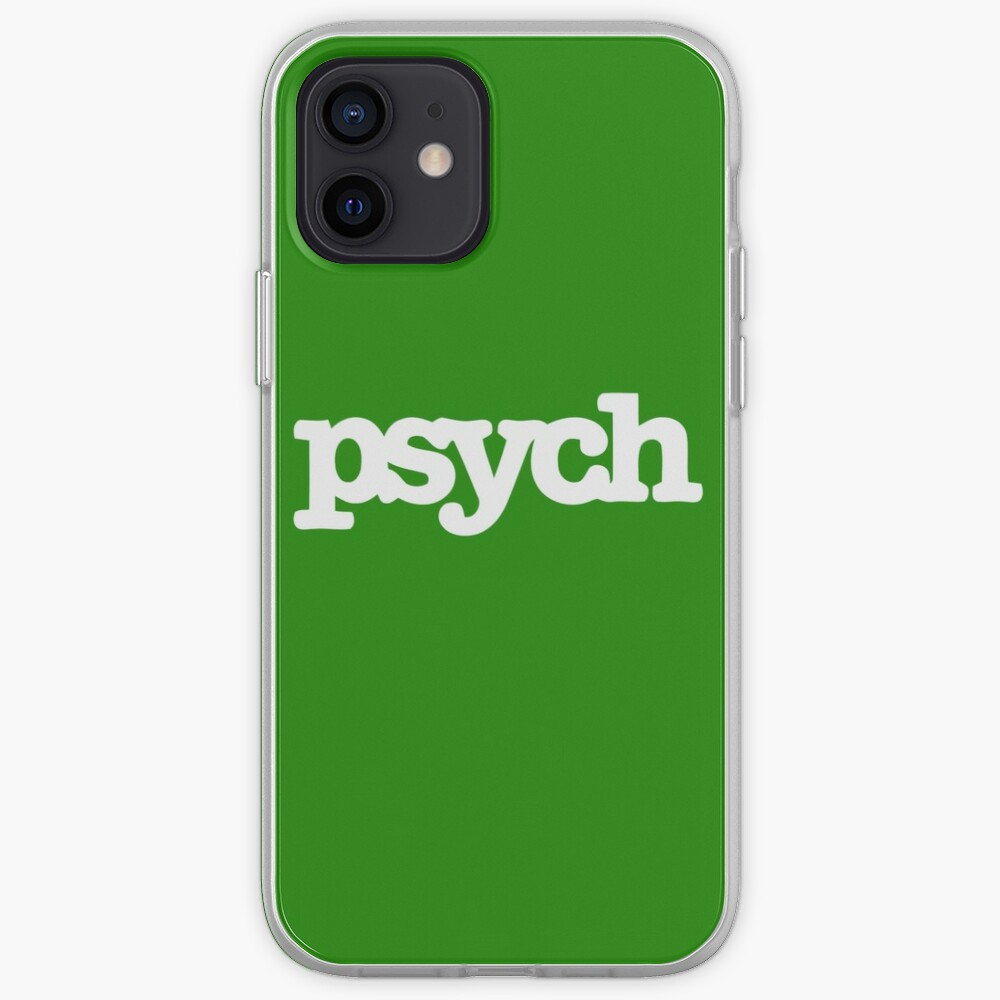 psych iPhone Case & Cover