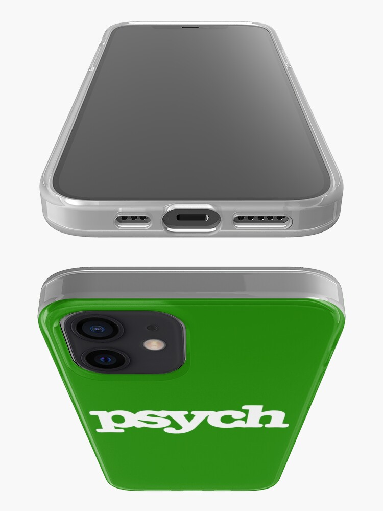 Alternate view of psych iPhone Case & Cover