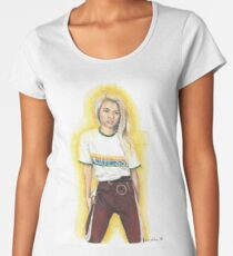 Hayley Kiyoko (Featured Art) Women's Premium T-Shirt