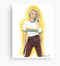 Hayley Kiyoko (Featured Art) Canvas Print