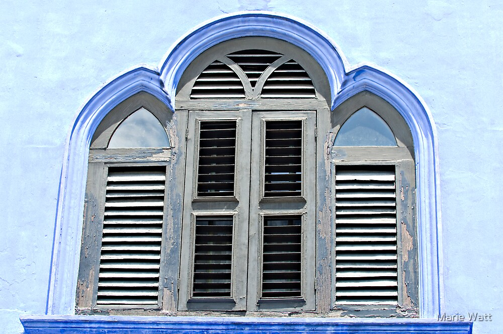 The Blue Window by Marie Watt