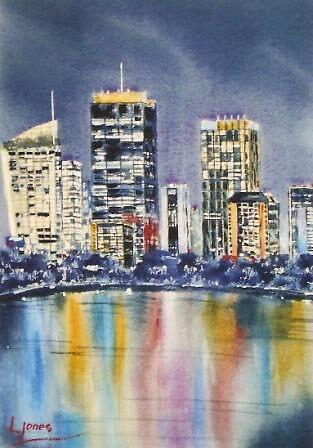 City Skyline by Leanne  Jones