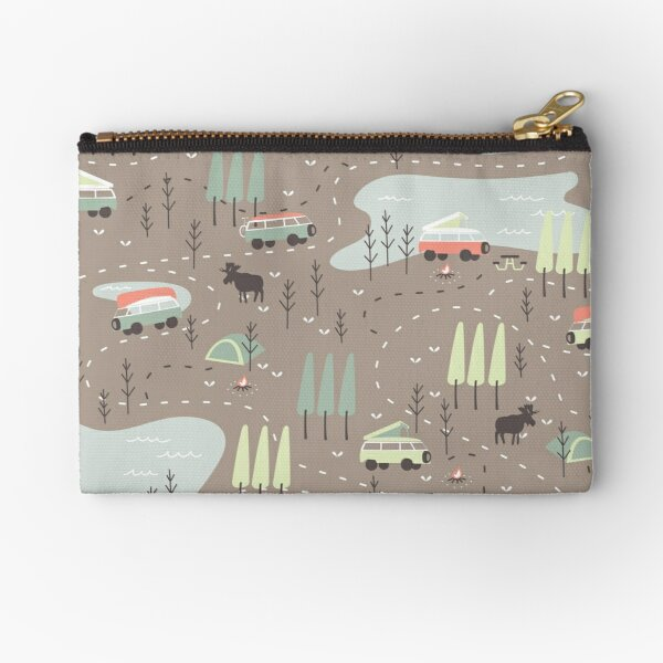 Long and Winding Road Zipper Pouch