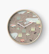 Long and Winding Road Clock