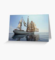 Backlit Europa Greeting Card