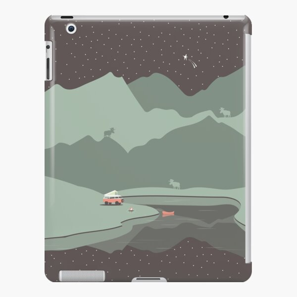 Into the Wild - Camping Scene iPad Snap Case