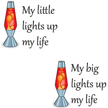 My big/little lights up my life (one for each) by OddlyEven