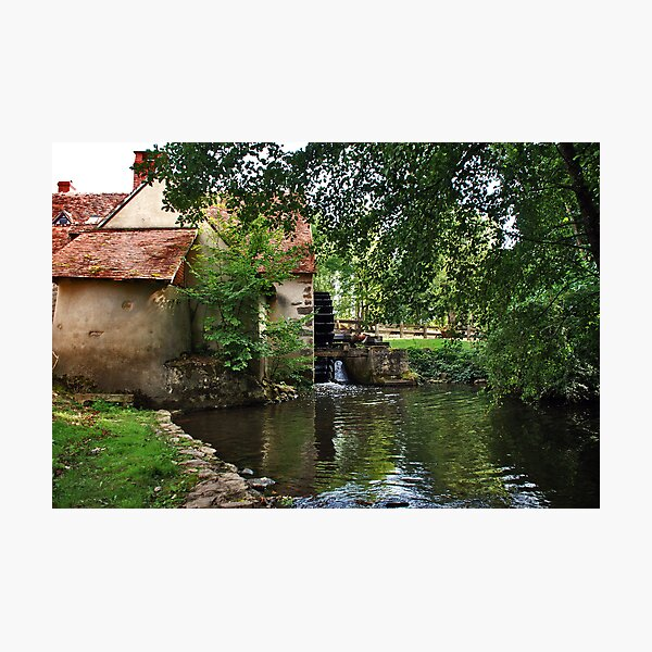 Le Moulin d'Angibault Photographic Print