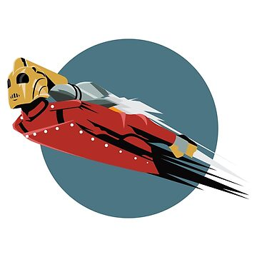 Rocketeer Logo Art Deco Flight by baggss