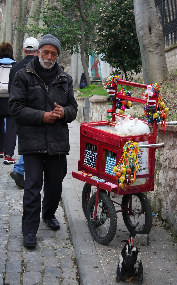 Istanbul Street Vendor by Gavin Craig