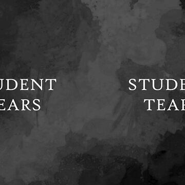 Student Tears Mug by GrizzlyGaz