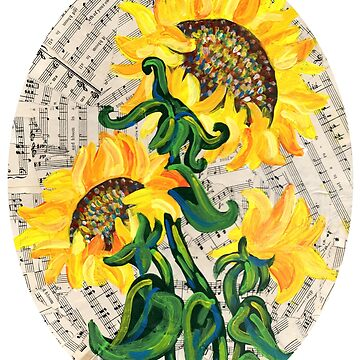 Bright Song Sunflower #2 by missmann