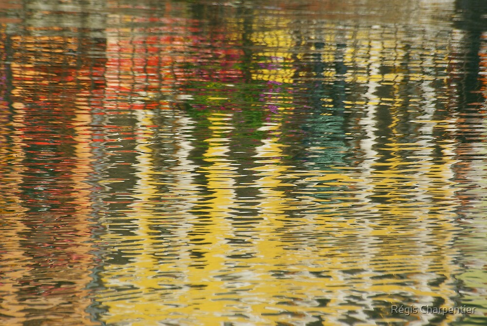 Abstract Water Reflection by Régis Charpentier