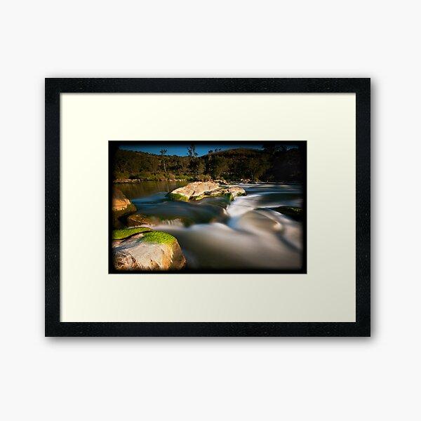 Bells Rapids Framed Art Print