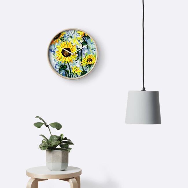 Wilde Sonnenblume von missmann