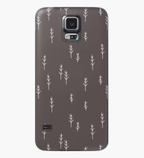 Into the Wild - Forest, Black Background Case/Skin for Samsung Galaxy