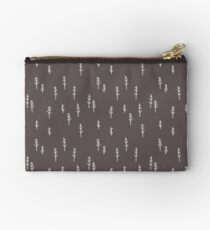 Into the Wild - Forest, Black Background Studio Pouch